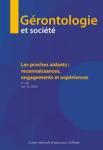 GERONTOLOGIE ET SOCIETE, Vol. 42, n°161 - Mars 2020 - Les proches aidants : reconnaissances, engagements et expériences